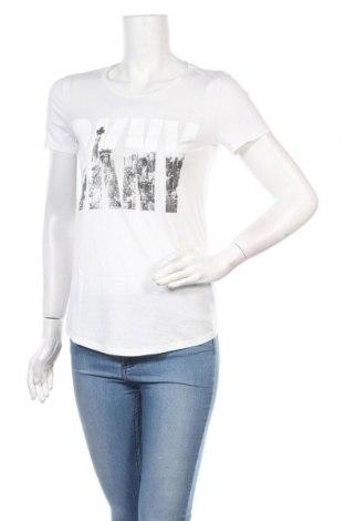 Dámské tričko DKNY, Velikost XXS, Barva Bílá, Bavlna, Cena  364,00Kč