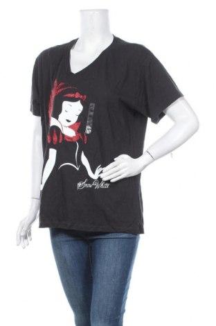 Γυναικείο t-shirt Disney, Μέγεθος XXL, Χρώμα Μαύρο, Βαμβάκι, Τιμή 18,19€
