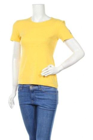 Γυναικείο t-shirt Escada Sport, Μέγεθος S, Χρώμα Κίτρινο, Βαμβάκι, Τιμή 20,19€