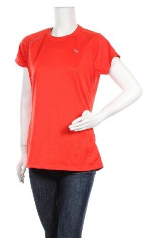 Дамска тениска SOC, Размер L, Цвят Червен, 92% полиестер, 8% еластан, Цена 6,62лв.