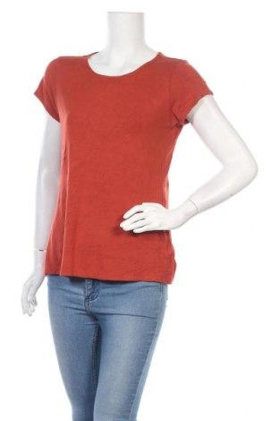 Дамска тениска Tahari, Размер L, Цвят Оранжев, 95% модал, 5% еластан, Цена 6,04лв.