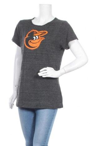 Дамска тениска Touch, Размер XL, Цвят Сив, 50% полиестер, 37% памук, 13% вискоза, Цена 5,04лв.