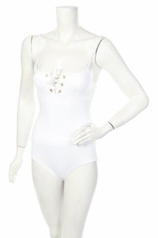 Дамски бански Melissa Odabash, Размер XS, Цвят Бял, 86% полиамид, 14% еластан, Цена 98,02лв.