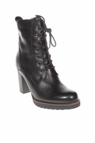 Дамски боти Marco Tozzi, Размер 38, Цвят Черен, Естествена кожа, Цена 149,00лв.