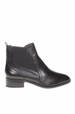Дамски боти Marks & Spencer, Размер 38, Цвят Черен, Естествена кожа, Цена 149,00лв.