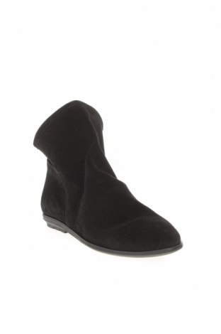 Дамски боти Mis Pepas, Размер 36, Цвят Черен, Естествен велур, Цена 149,00лв.