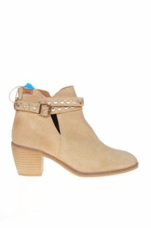 Dámské boty  MTNG, Velikost 40, Barva Béžová, Přírodní velur , Cena  777,00Kč