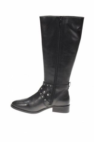 Дамски ботуши Apolina, Размер 38, Цвят Черен, Естествена кожа, Цена 143,20лв.