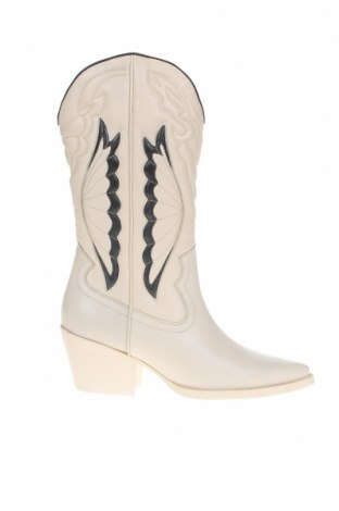 Дамски ботуши Bronx, Размер 39, Цвят Бял, Естествена кожа, Цена 246,75лв.