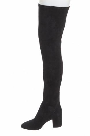 Дамски ботуши Even&Odd, Размер 40, Цвят Черен, Текстил, Цена 69,00лв.