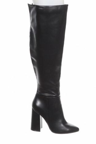 Γυναικείες μπότες Even&Odd, Μέγεθος 39, Χρώμα Μαύρο, Δερματίνη, Τιμή 33,25€