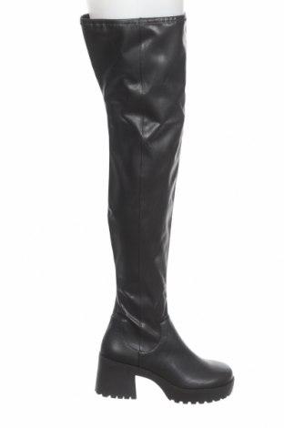 Дамски ботуши Monki, Размер 41, Цвят Черен, Еко кожа, Цена 80,10лв.