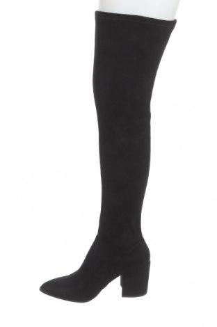 Дамски ботуши Steve Madden, Размер 40, Цвят Черен, Текстил, Цена 279,00лв.