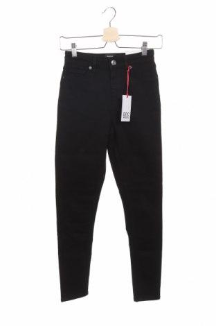 Дамски дънки BDG, Размер XXS, Цвят Черен, 92% памук, 6% полиестер, 2% еластан, Цена 25,69лв.