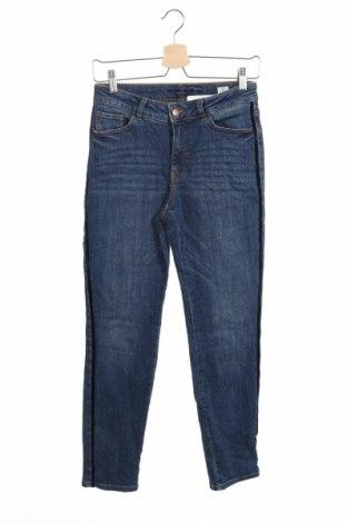 Дамски дънки Christian Berg, Размер XS, Цвят Син, 99% памук, 1% еластан, Цена 22,68лв.