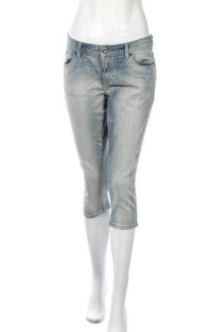 Дамски дънки Clockhouse, Размер XL, Цвят Син, 99% памук, 1% еластан, Цена 8,51лв.