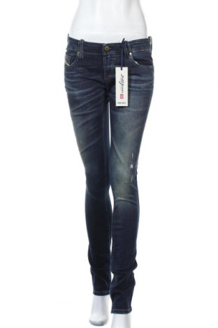 Γυναικείο Τζίν Diesel, Μέγεθος M, Χρώμα Μπλέ, 90% βαμβάκι, 8% πολυεστέρας, 2% ελαστάνη, Τιμή 52,98€