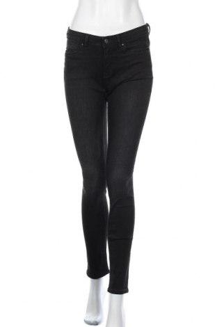 Дамски дънки Edc By Esprit, Размер M, Цвят Черен, 83% памук, 15% полиестер, 2% еластан, Цена 28,74лв.