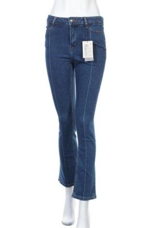 Дамски дънки Kiomi, Размер M, Цвят Син, 99% памук, 1% еластан, Цена 37,20лв.