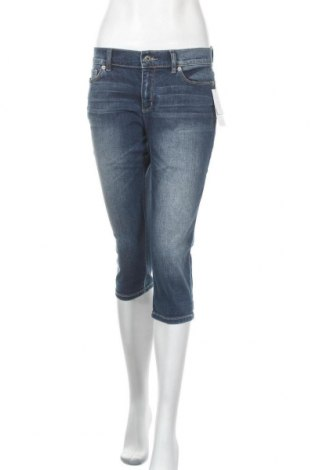 Дамски дънки Liz Claiborne, Размер S, Цвят Син, 78% памук, 20% полиестер, 2% еластан, Цена 13,82лв.