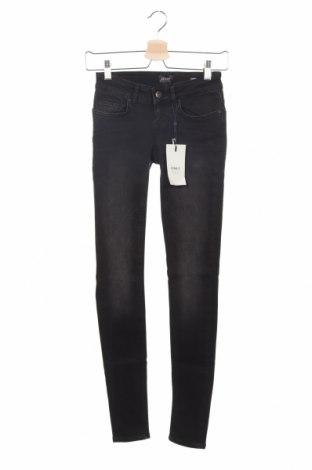 Дамски дънки ONLY, Размер XXS, Цвят Черен, 92% памук, 6% полиестер, еластан, Цена 51,75лв.
