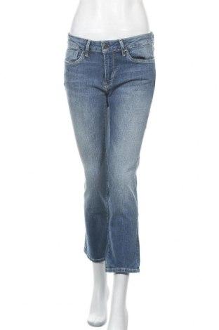 Дамски дънки Pepe Jeans, Размер S, Цвят Син, 98% памук, 2% еластан, Цена 47,70лв.