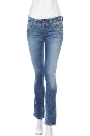 Γυναικείο Τζίν Pepe Jeans, Μέγεθος M, Χρώμα Μπλέ, 98% βαμβάκι, 2% ελαστάνη, Τιμή 33,65€