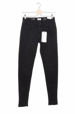 Дамски дънки Q/S by S.Oliver, Размер XS, Цвят Черен, 99% памук, 1% еластан, Цена 26,78лв.