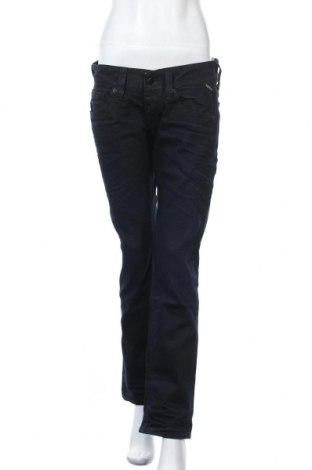 Дамски дънки Replay, Размер M, Цвят Син, 67% памук, 31% полиестер, 2% еластан, Цена 72,52лв.