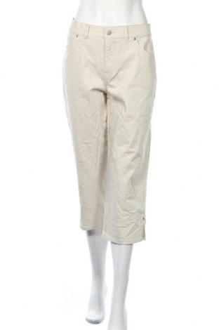 Дамски дънки Sonoma, Размер XL, Цвят Бежов, 98% памук, 2% еластан, Цена 7,70лв.