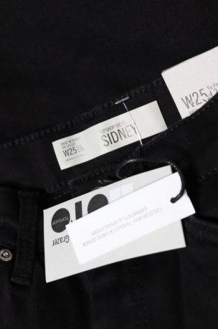 Дамски дънки Topshop Moto, Размер XS, Цвят Черен, 91% памук, 7% полиестер, 2% еластан, Цена 19,65лв.