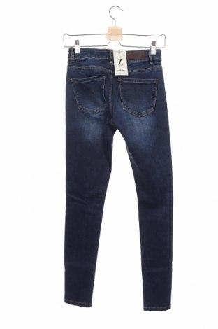 Дамски дънки Vero Moda, Размер XS, Цвят Син, 95% памук, 3% полиестер, 2% еластан, Цена 23,09лв.
