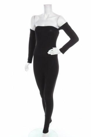 Дамски гащеризон Fashion nova, Размер S, Цвят Черен, Цена 9,45лв.