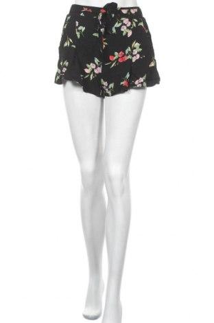 Pantaloni scurți de femei, Mărime S, Culoare Negru, Viscoză, Preț 14,09 Lei