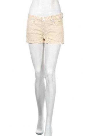 Дамски къс панталон Adidas Originals, Размер M, Цвят Бежов, Цена 33,60лв.