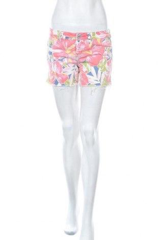 Дамски къс панталон Aeropostale, Размер S, Цвят Многоцветен, 98% памук, 2% еластан, Цена 5,51лв.