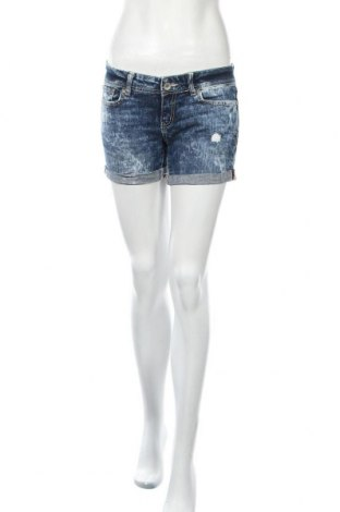 Дамски къс панталон Aeropostale, Размер S, Цвят Син, 99% памук, 1% еластан, Цена 4,73лв.