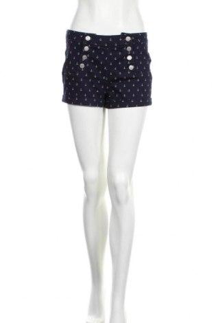 Дамски къс панталон Almost Famous, Размер M, Цвят Син, 78% памук, 21% полиестер, 1% еластан, Цена 25,20лв.