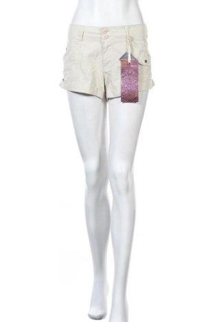 Дамски къс панталон Almost Famous, Размер XL, Цвят Бежов, Памук, Цена 33,60лв.