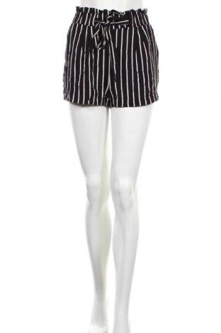Дамски къс панталон Ambiance Apparel, Размер S, Цвят Черен, Вискоза, Цена 20,95лв.