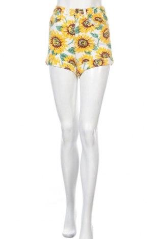 Дамски къс панталон American Apparel, Размер XS, Цвят Многоцветен, 98% памук, 2% еластан, Цена 16,07лв.