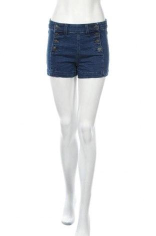 Дамски къс панталон American Eagle, Размер S, Цвят Син, 92% памук, 7% полиестер, 1% еластан, Цена 18,90лв.