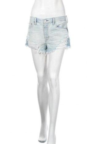 Дамски къс панталон American Eagle, Размер M, Цвят Син, 89% памук, 11% полиестер, Цена 18,74лв.