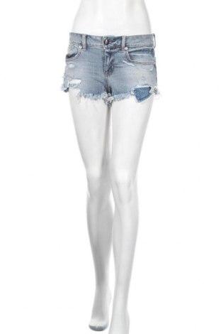 Дамски къс панталон American Eagle, Размер XS, Цвят Син, Цена 22,05лв.