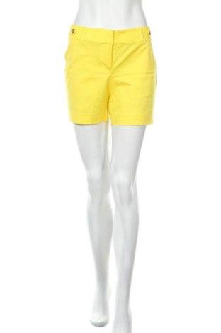 Дамски къс панталон Ann Taylor, Размер M, Цвят Жълт, 98% памук, 2% еластан, Цена 61,95лв.