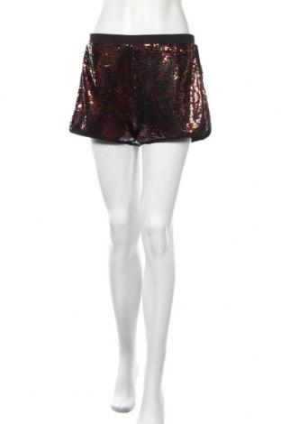 Дамски къс панталон Ark&co, Размер M, Цвят Оранжев, Полиестер, Цена 17,96лв.
