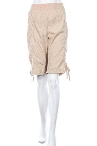 Γυναικείο κοντό παντελόνι Autograph, Μέγεθος 4XL, Χρώμα  Μπέζ, 100% βαμβάκι, Τιμή 11,43€