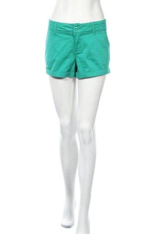Дамски къс панталон Beach Time, Размер M, Цвят Зелен, 98% памук, 2% еластан, Цена 18,95лв.