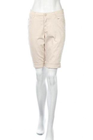 Γυναικείο κοντό παντελόνι Charles Vogele, Μέγεθος M, Χρώμα  Μπέζ, 98% βαμβάκι, 2% ελαστάνη, Τιμή 9,38€