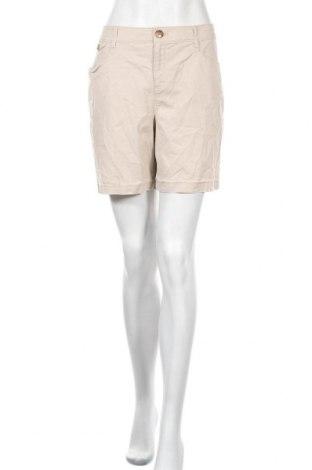 Дамски къс панталон Charter Club, Размер XL, Цвят Бежов, 98% памук, 2% еластан, Цена 6,98лв.